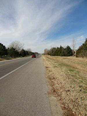 An idea from another bike touring fool: a picture from wherever I am at 11 am. Today? Outskirts of Wichita.