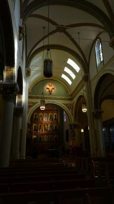 Inside St. Francis